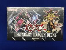 Yu-GI-Oh! Legendary Dragon Decks (Atlantis Cyber Dimensional) Factory Sealed