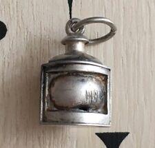 Pendentif Lanterne Argent Massif - Silver Pendant Lantern