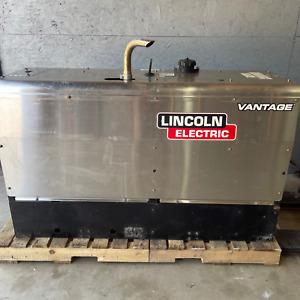 2018 Lincoln Vantage 300 Kubota Diesel Welder Generator Welding--  2910 Hrs