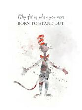 ART PRINT The Cat in the Hat Quote illustration, Dr. Seuss, Wall Art, Decor Gift