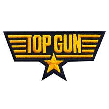Top Gun Movie Top Gun Logo Iron on Sew on Patch (3.5 X 1.60 -MTG4)