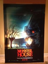 Bus Shelter 6x4 Ft LENTICULAR - MONSTER HOUSE - 3D Original Movie Poster Standee