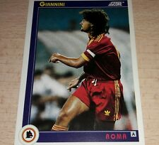 CARD SCORE 1993 ROMA GIANNINI CALCIO FOOTBALL SOCCER ALBUM