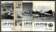 26 Lot IPMS Plastic Modeler's Society Mag. 1967-'70 Loaded w/ Info. By MODELLERS