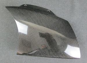 New Genuine Aprilia RSV 1000 2003 RH Baffle, Carbon AP8149285 (MT)