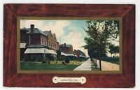 Fort McPherson Homes and Street ATLANTA GA Vintage Georgia Postcard