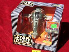 Star Wars Action Fleet BOBA FETT SLAVE I Galoob Micro Machines 1996 1
