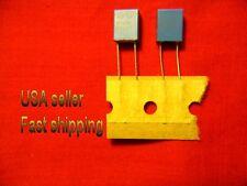 50 pcs -  .0047uf  (4700pf, 0.0047uf)  400v  2% tol radial poly film capacitors