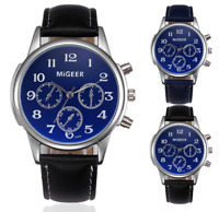 Migeer Classic Pilot Aviation Military 42mm Quartz Alloy Watch Colour Choice