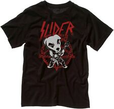 Slider Heavy Metal Cute Animal Crossing T-Shirt Unisex Black T Shirt