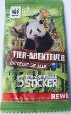 REWE WWF Tier Abenteuer Sticker - 5 Sticker wählen / auswählen / aussuchen