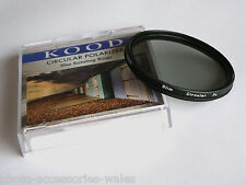 KOOD 40.5MM SUPER SLIM MOUNT CIRCULAR POLARISING FILTER C-PL CPL PLC