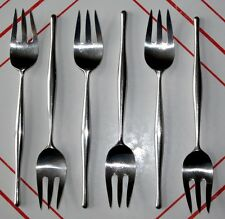 1 or more Lauffer Design 3 Salad Fork Don Wallance Mid-Century Modern Flatware