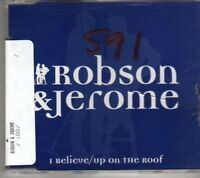 (BV971) Robson & Jerome, I Believe / Up On The Roof- 1995 DJ CD
