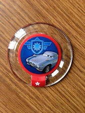 New Disney Infinity Power Disc Series 1 CHROME Damage Control from Cars 2