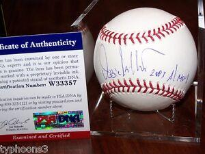 OZZIE GUILLEN (Chicago White Sox) signed baseball w/ PSA COA