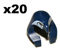 LEGO BULK LOT 20 BLUE HEADDRESS MUMMY EGYPTIAN HATS FALCON PATTERN