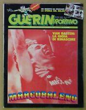 GUERIN SPORTIVO=N°15 1988=VAN BASTEN=MILAN STORY=ALESSANDRO BIANCHI=DINO VIOLA