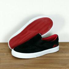 Lakai Skate Schuhe Shoes Kids Kinder Toddler Owen Black Red Suede 1/32