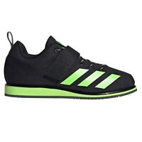 adidas Powerlift 4 Mens Weightlifting Powerlifting Shoe Black/Green