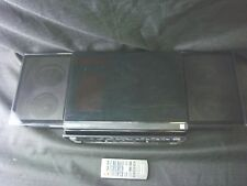 Panasonic SC-HC37 Compact Stereo w/ Remote CD Player iPod Doc Sliding Door