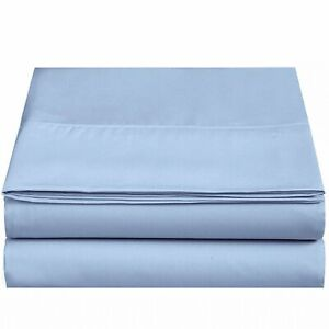Flat Sheet-Hotel Quality,1800 Series Brushed Microfiber,Ultra Soft &Comfortable