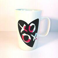 Starbucks 2015 XOXO Heart Love 16 Oz Valentine's Day Coffee Cup Mug - EUC