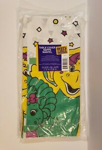 Barney The Dinosaur Party Table Cover 1996 Brand New