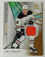 2019-20 SP Game Used Relics #170 Joel Persson Rc Jersey #577/599