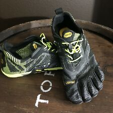 VIbram FiveFingers KMD EVO Men Rare Black Electric Yellow NEW Without Tag 44