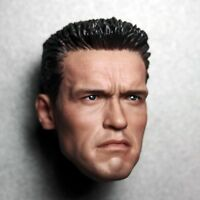 1/6 Scale Arnold Schwarzenegger Head Model Sculpt For 12' HT Phicen Body Figure