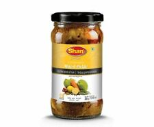 Shan Mixed Pickle (spicy vegetable in oil) - 300g - (pack of 3)