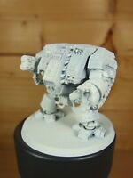 PLASTIC WARHAMMER SPACE MARINE DREADNOUGHT BASE PAINTED (L)