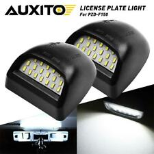 99-13 GMC Sierra 1500 2500HD 3500HD LED License Plate Light Housing AUXITO 2PC