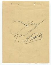 Serge Jaroff Signed Album Page Don Cossack Choir Chorus Autographed 1949