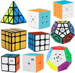 Magic Cube Smooth Speed Cube Puzzle 3x3 4x4 5x5 Megaminx Pyramid Cube