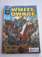 MAGAZINE GAMES WORKSHOP , WHITE DWARF N° 114 DE 2003 . LE SEIGNEUR DES ANNEAUX .