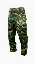 BRITISH DPM CAMOUFLAGE BDU PANTS MILITARY TYPE CARGO 6 POCKET FATIGUE TROUSERS