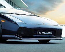 Hamann Cup Frontspoilerlippe verstellbar in Fiberglas Lamborghini Gallardo