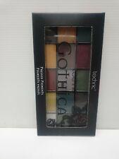 Technic Gothica Pressed Pigment Eye Shadow Palette 15 Dark Matte Shimmer Shades