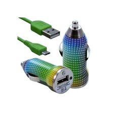 Lighter car charger with usb data cable cv13 for nokia asha 200/: