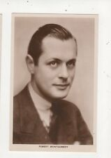 Robert Montgomery Vintage Plain Back Photo Card Actor 572a