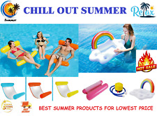 Summer Pvc Swimming Pool Float Inflatable Lounge Chair Swimming Water Hammock