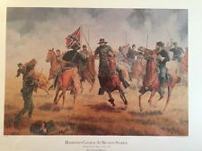 Hamptons Charge At Brandy Station Limited Edition Print By Clyde Heron