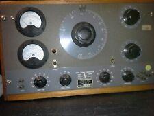 Hewlett Packard Hp205ag Audio Signal Generator Western Electric Vacuum Tubes