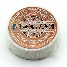 Sex Wax Mr. Zogs Dream Cream Topcoat Bronze Cool-Tropic Water Surf Wax