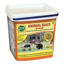 Imperdibile repellente granulare animal raus per cinghiali cervi caprioli lepri