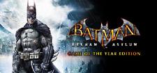 Batman: Arkham Asylum Game of the Year Edition PC & MAC 🔑🕹🎮