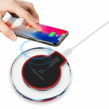 Fast Qi Wireless Charger Charging Pad For Samsung S8 S7 S9 Edge iPhone 8 X