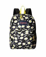 Jansport Superbreak Mens & Womens Backpacks Rucksack - Daisy Flower